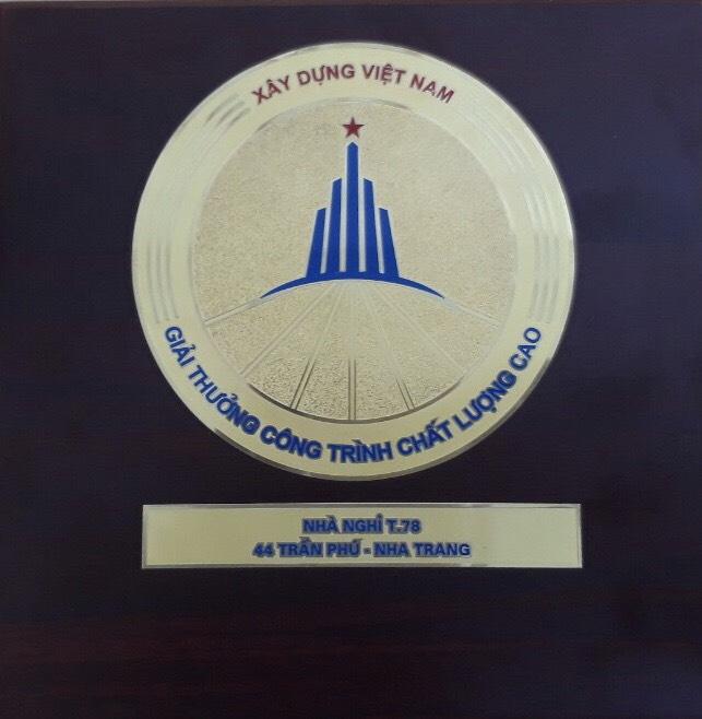"""CM2 được Bộ Xây dựng trao giải thưởng """"Công trình xây dựng chất lượng cao"""""""