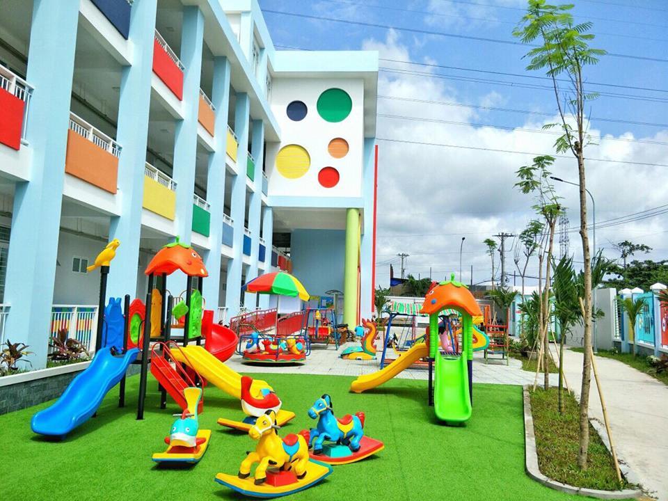 CM2-Trường mầm non Sen Hồng khai giảng năm học mới