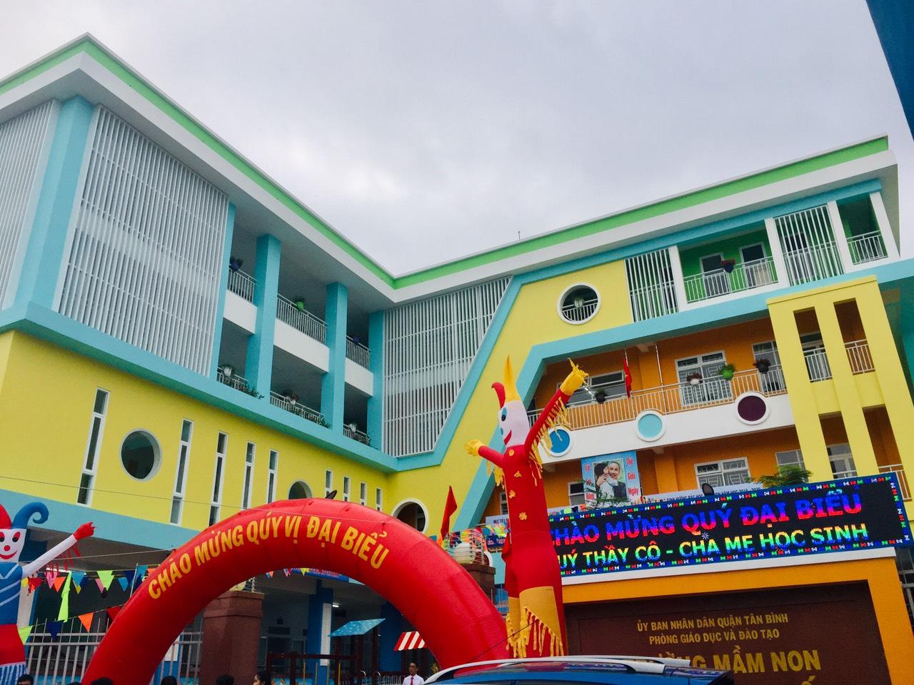 Khánh thành trường mầm non Tân Sơn Nhất
